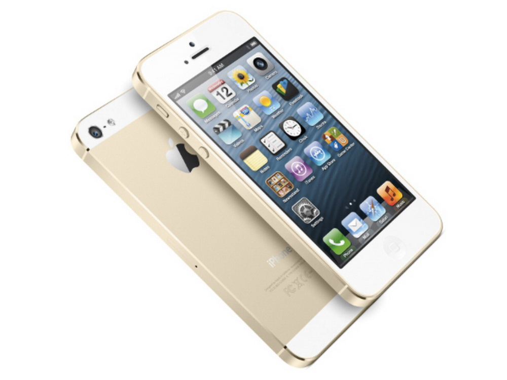 Mobiltelefon /<br> Handy Apple IPhone<br>5S 16 GB Gold