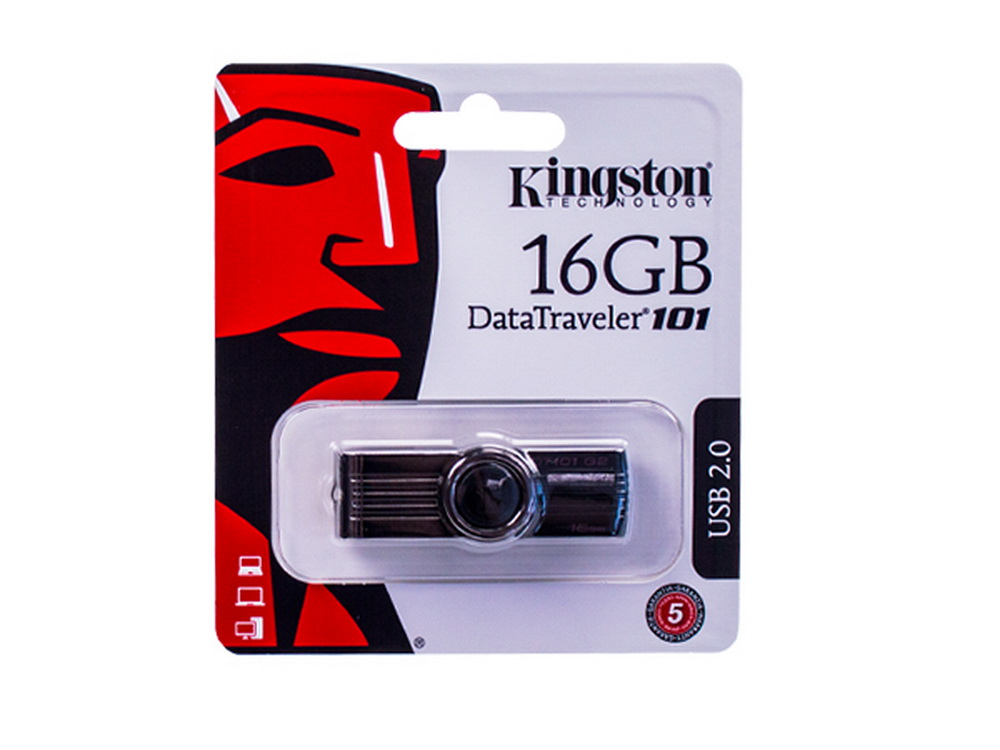 USB-Speicher-Stick<br>2.0 16 GB Kingston