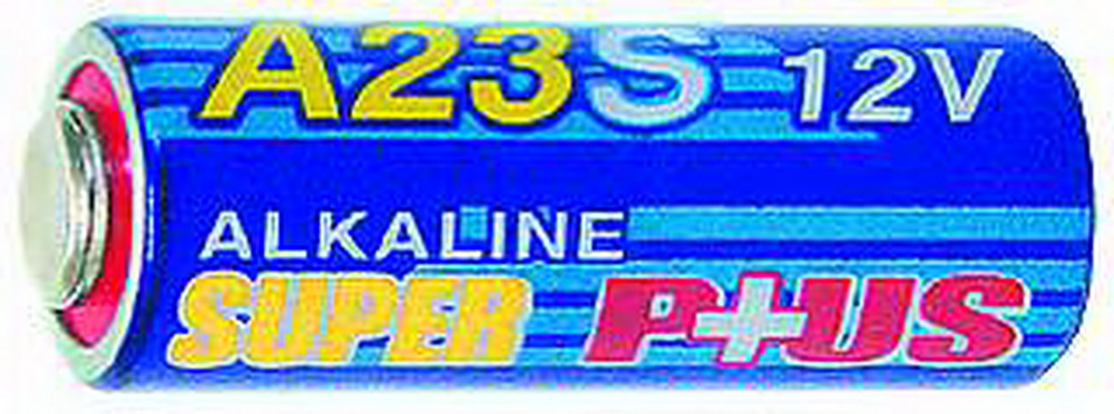 Batterie A23,12V,28x10mm Alkaline