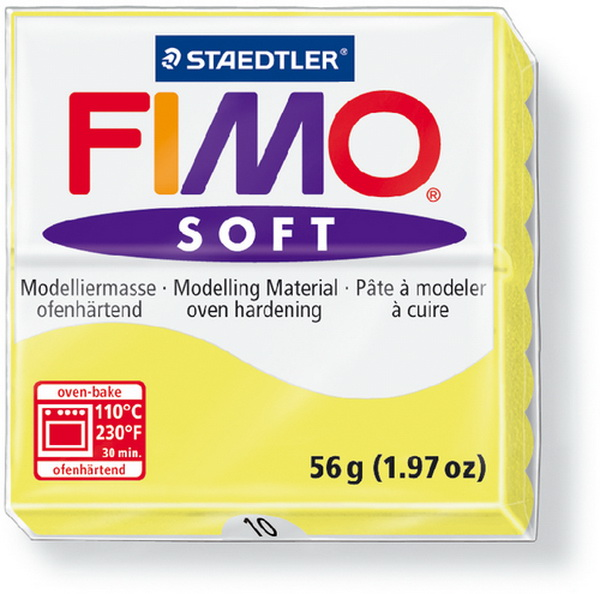 FIMO, Modelliermasse, Knete limone soft normal