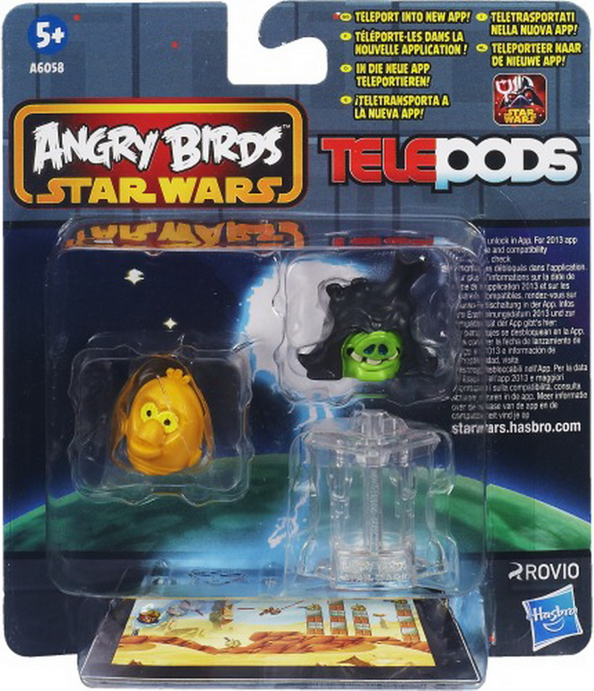 Star Wars Angry Birds Telepods Figure Pack, 1Pack