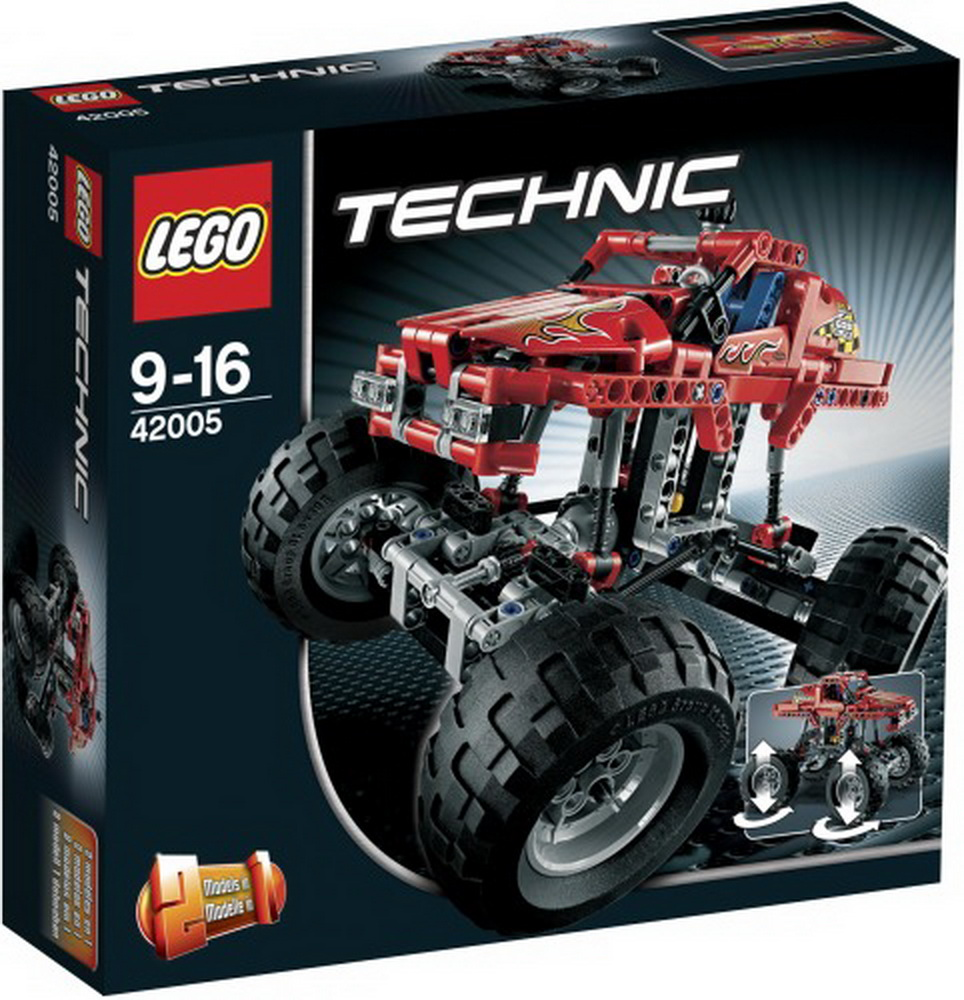 Lego Technic 42005<br>Monstertruck, 1Stück