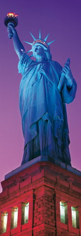 Puzzle, Sights: Statue of Liberty, 1.000 Teile, 1