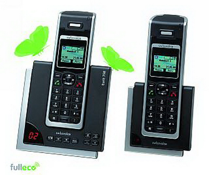 isdn schnurlos telefon swissvoice 39 39 eurit 758 duo 39 39 mit. Black Bedroom Furniture Sets. Home Design Ideas